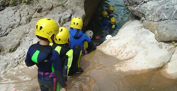 Canyon famille au départ de Saint-Lary