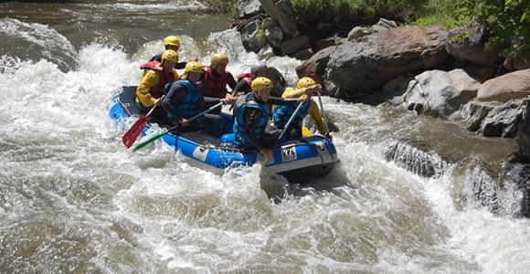 canyon eau vive raft sportif