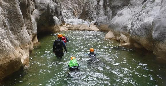 canyon famille en Ariège et dans les Corbières